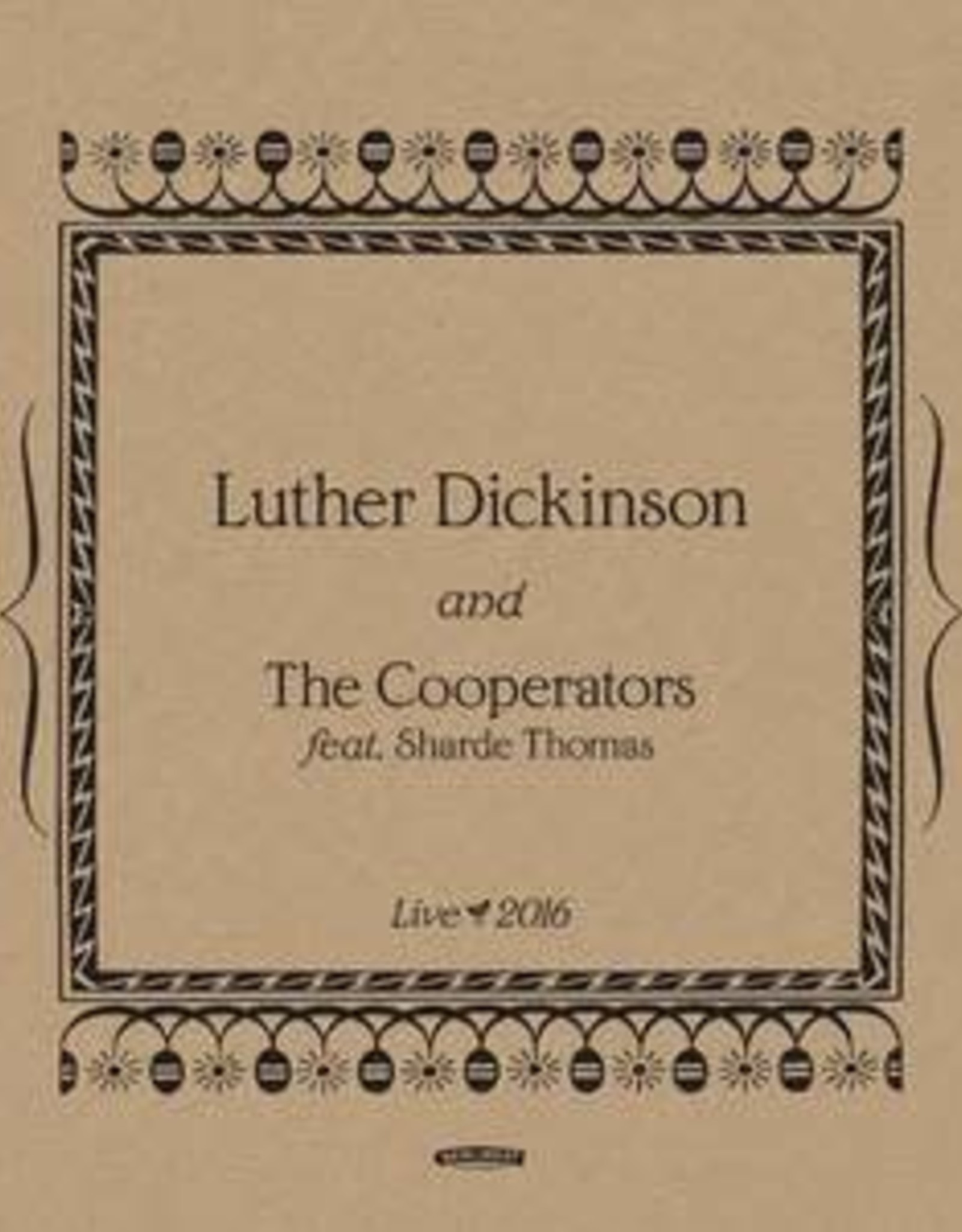 Luther Dickinson - Rock, Live Concert(RSD 2020 BF)