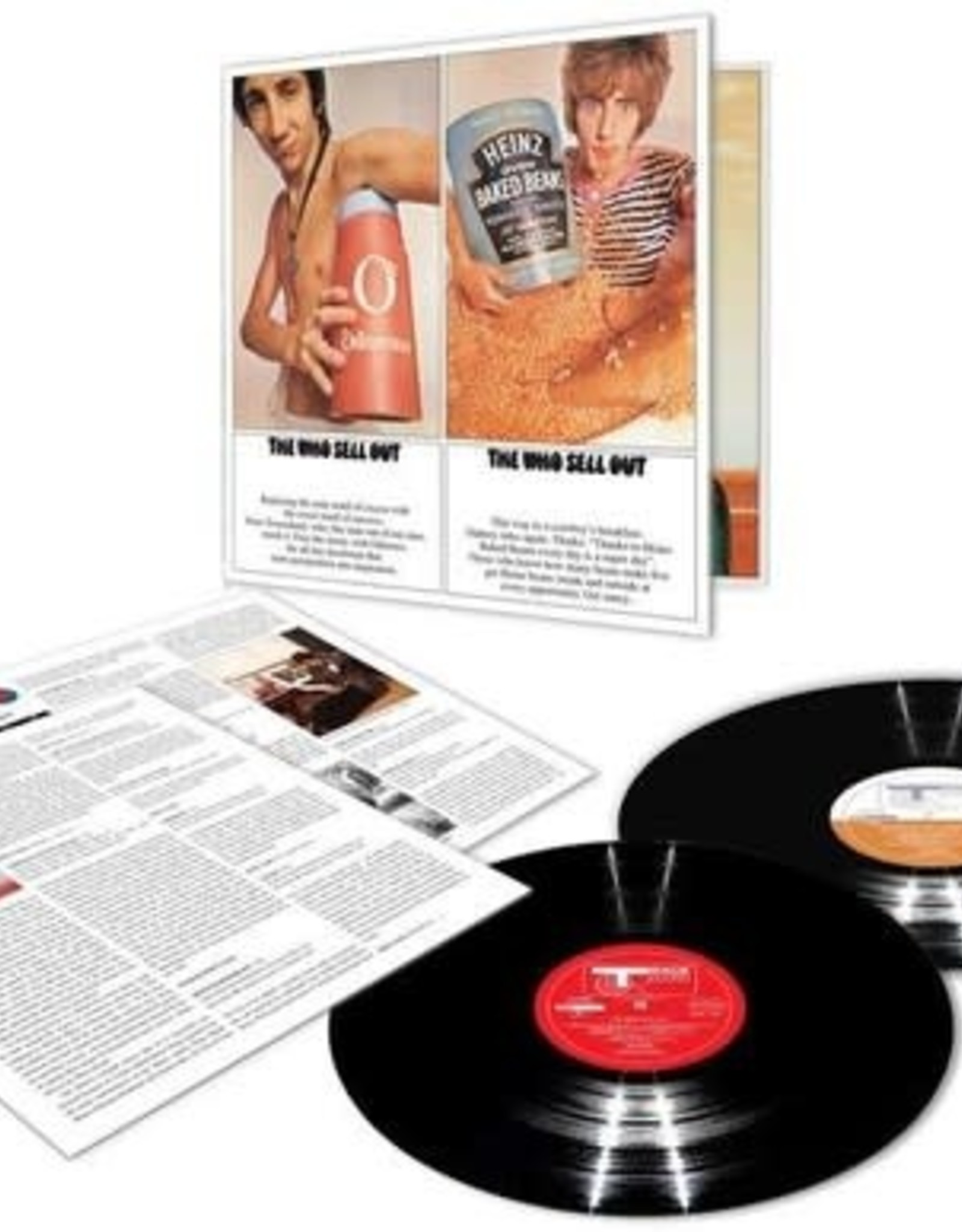 The Who Sell Out 2LP Deluxe Vinyl Reissue Edition!