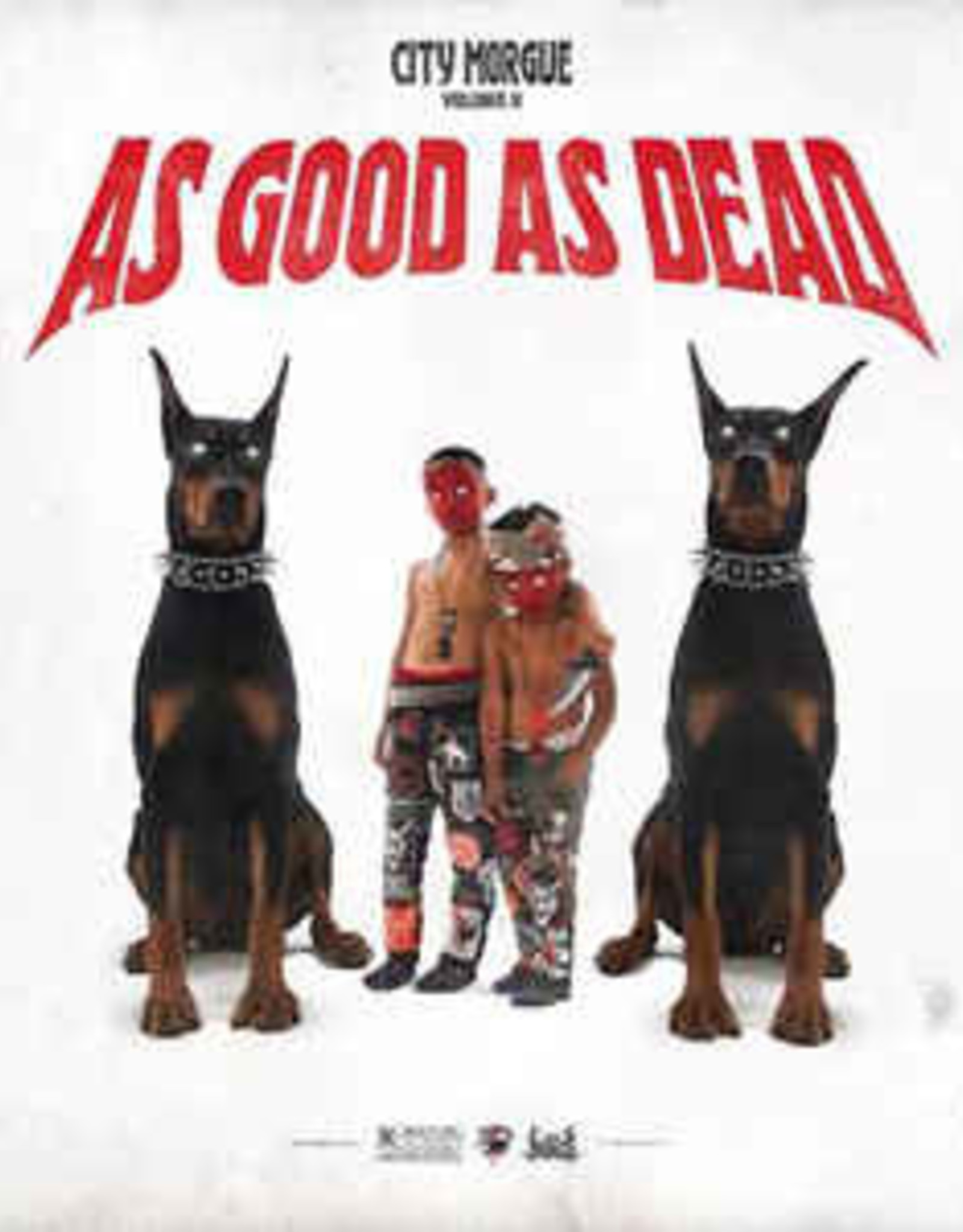City Morgue - City Morgue Vol 2: As Good As Dead (Red & White Splatter Vinyl)  (RSD 2020)