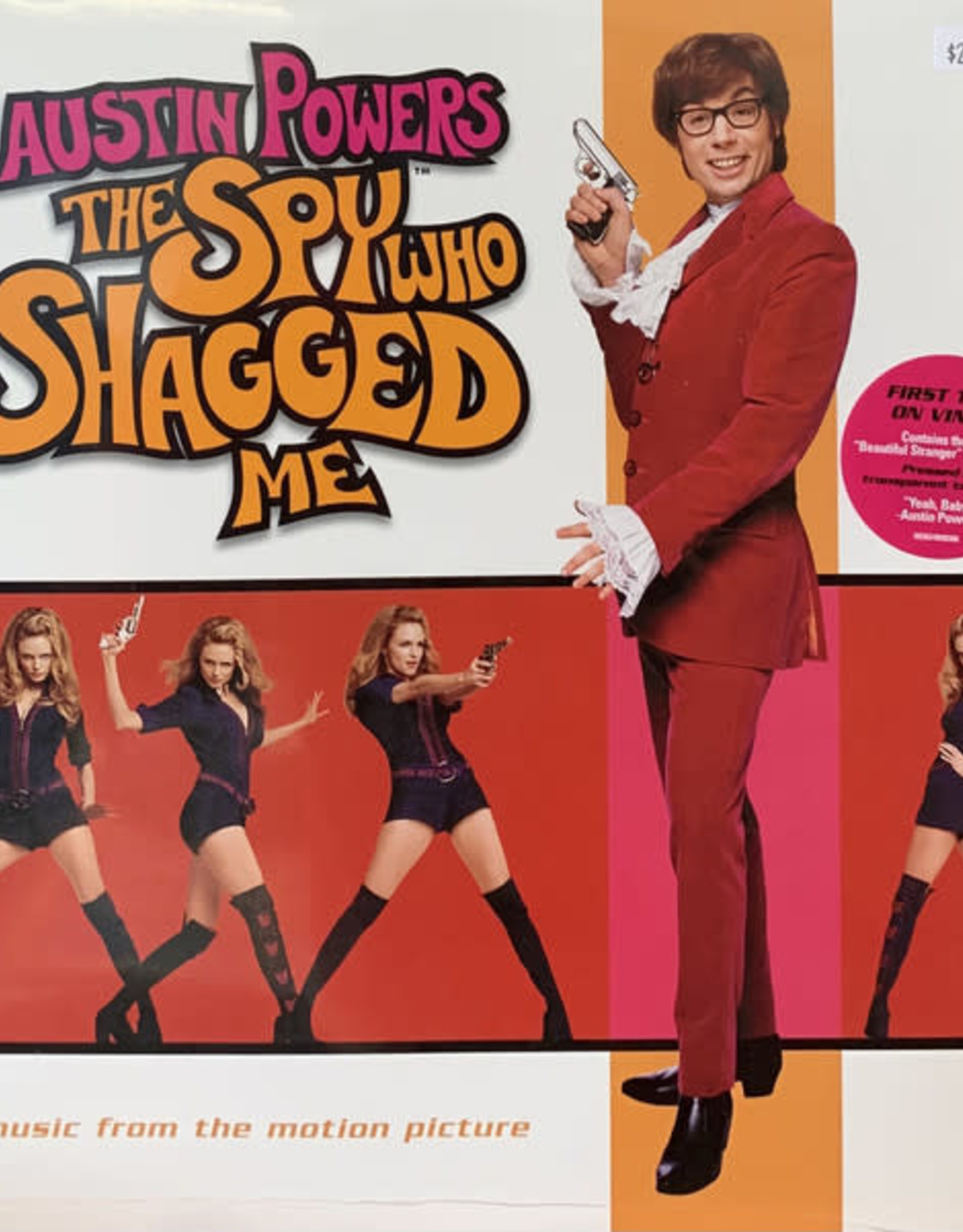 Various Artists - Austin Powers - The Spy Who Shagged Me (Music From The Motion Picture) (Transparent Tan Vinyl)  (RSD 2020)
