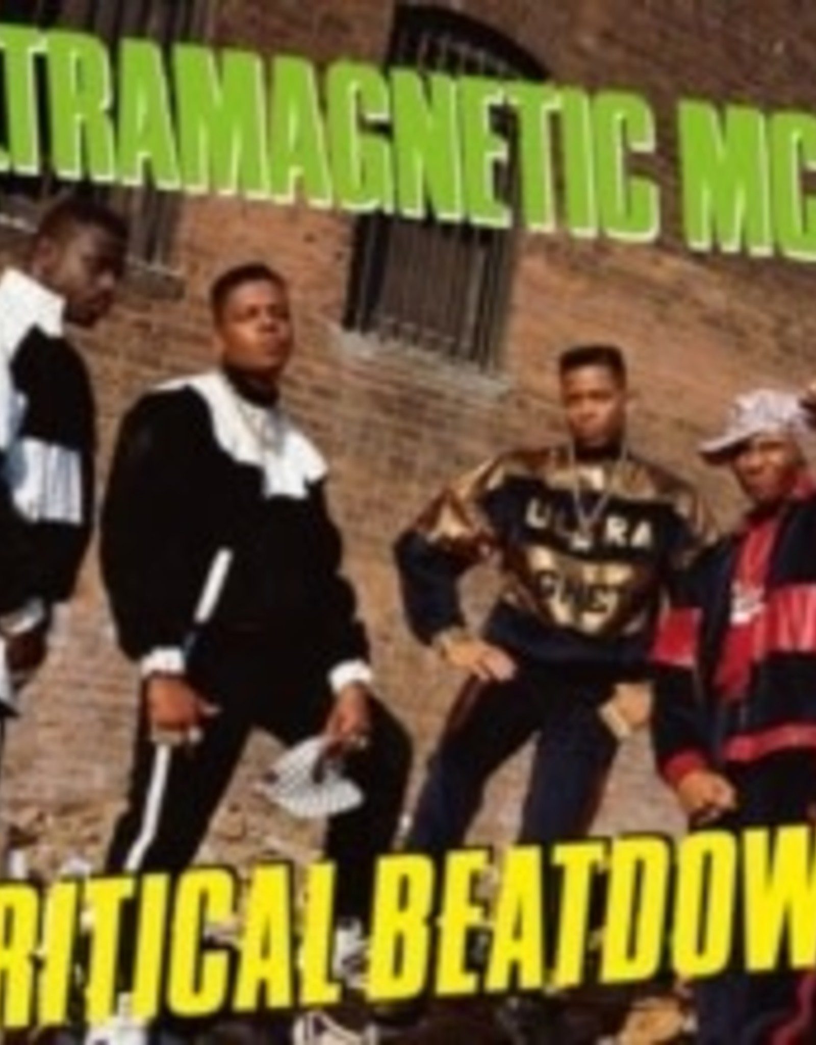 Ultramagnetic MC's - Critical Beatdown [Expanded Edition, Limited 180-Gram Yellow Vinyl With Bonus Tracks]