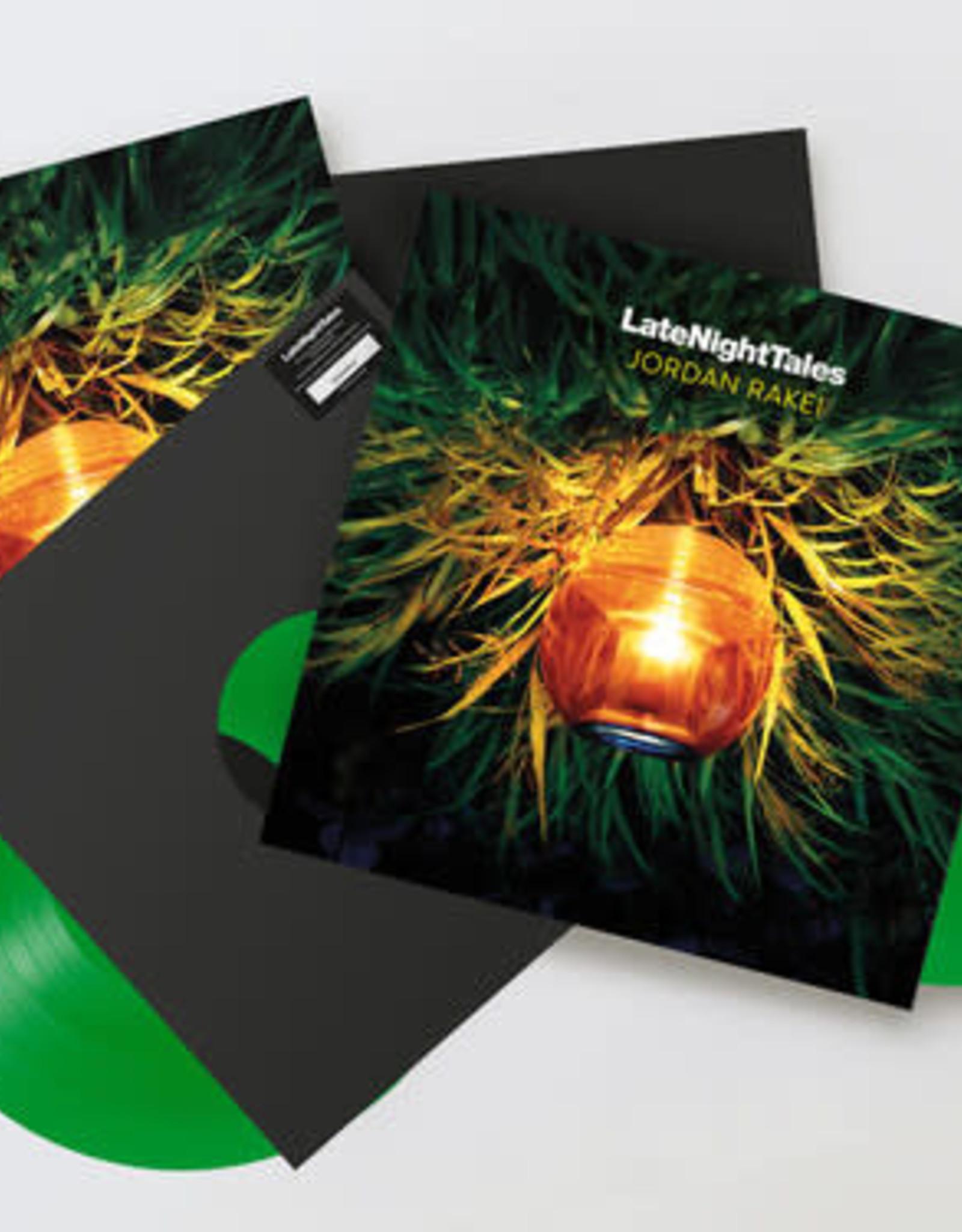 Late Night Tales: Jordan Rakei (Unmixed Green Vinyl)