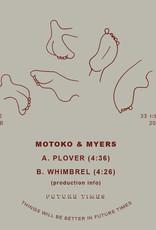 "Motoko & Myers - Plover b/w Whimbrel 7"""