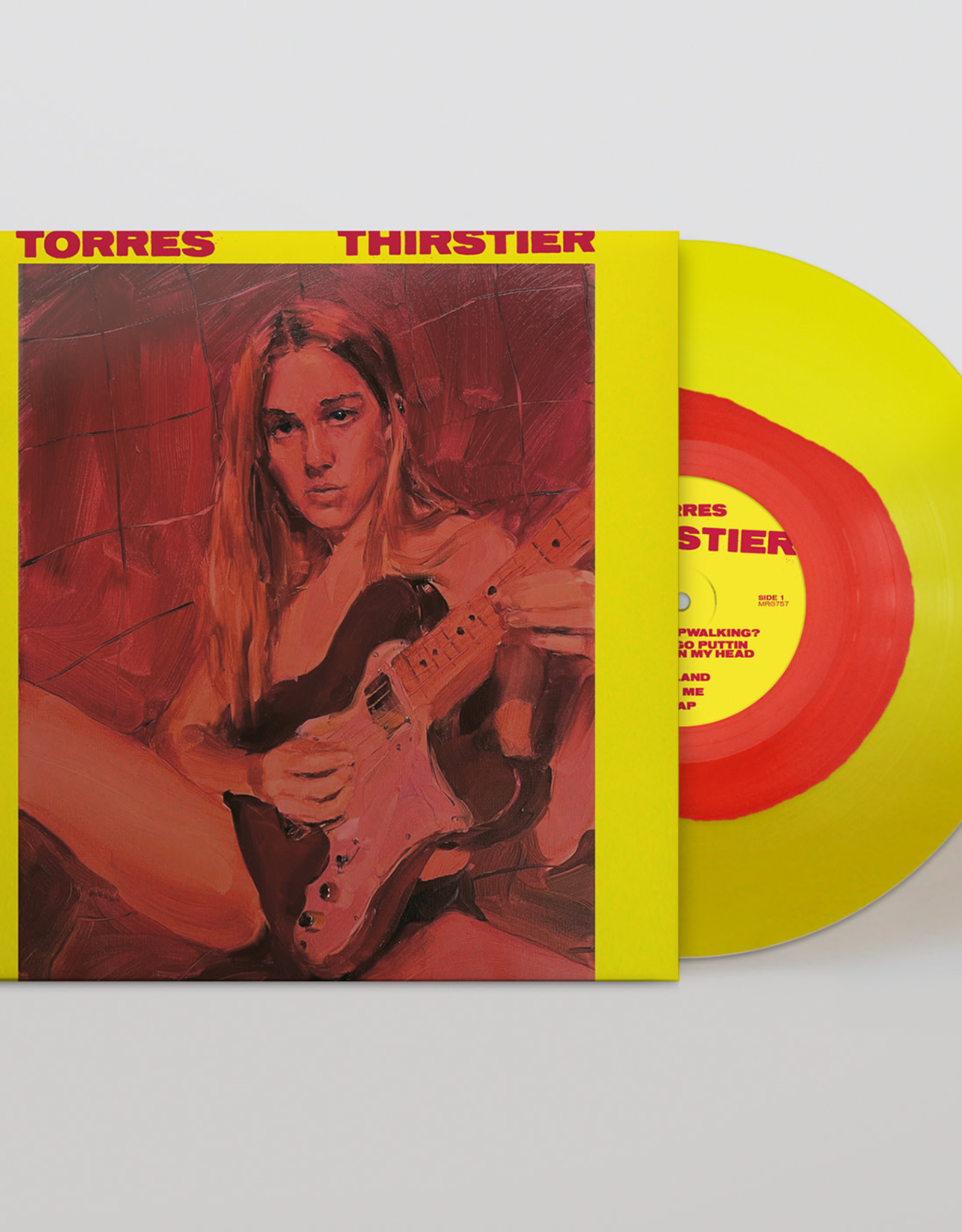 Torres - Thirstier (Red & Yellow Vinyl) PREORDER DROPS 7/30/21
