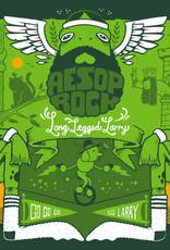 """Aesop Rock - Long Legged Larry (Green 7"""")"""
