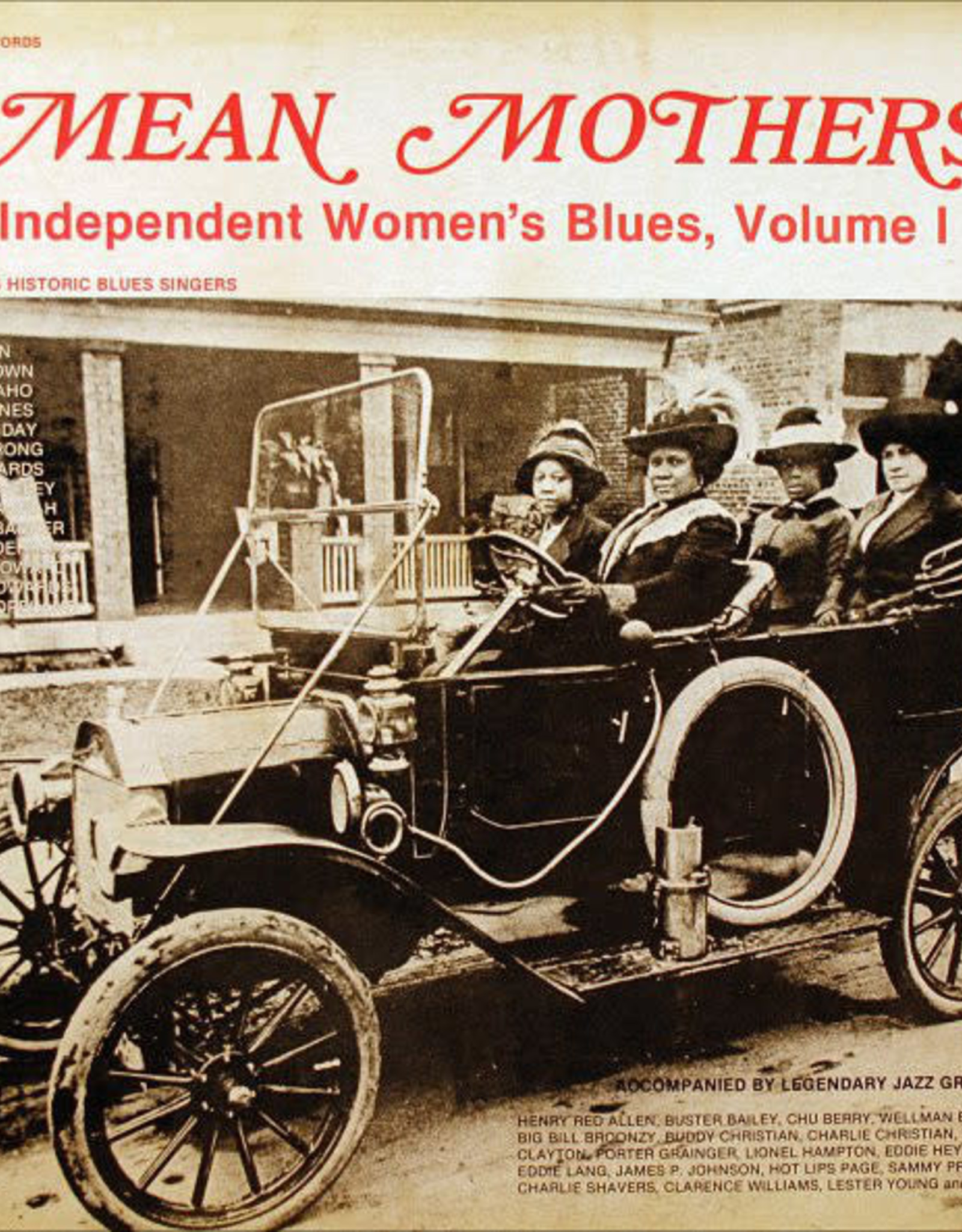 Mean Mothers - Independent Women's Blues Vol 1