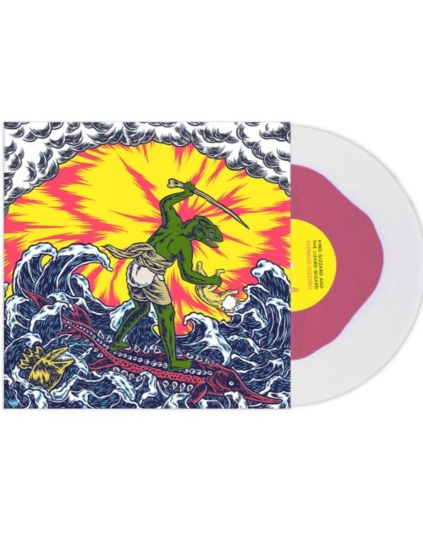 King Gizzard & the Lizard Wizard - Teenage Lizard \+ Hidden Live 7Inch (Pink & Clear Vinyl)