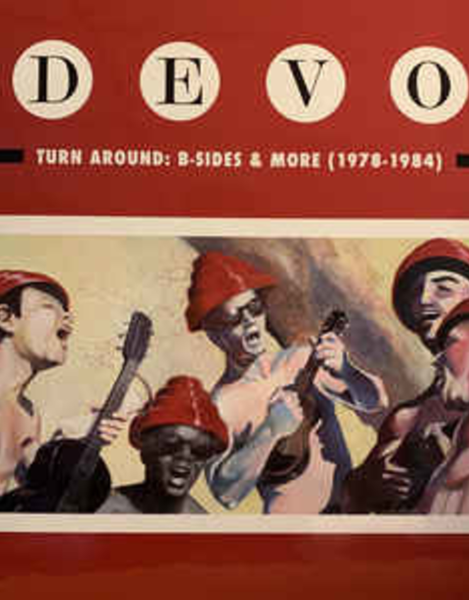 Devo - Turn Around: B-Sides & More 1978-1984 (Rog Limited Edition)