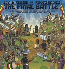 Final Battle: Sly & Robbie Vs. Roots Radics (Golden Eye Smoke Vinyl) (RSD 6/21)