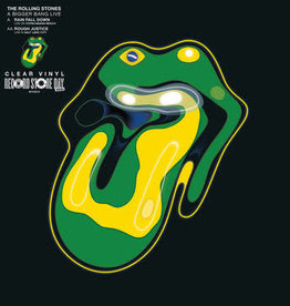 """Rolling Stones - Rain Fall Down (Live from Copacabana Beach 2006)/Rough Justice (Live From Salt Lake City 2005) 10""""(RSD 6/21)"""