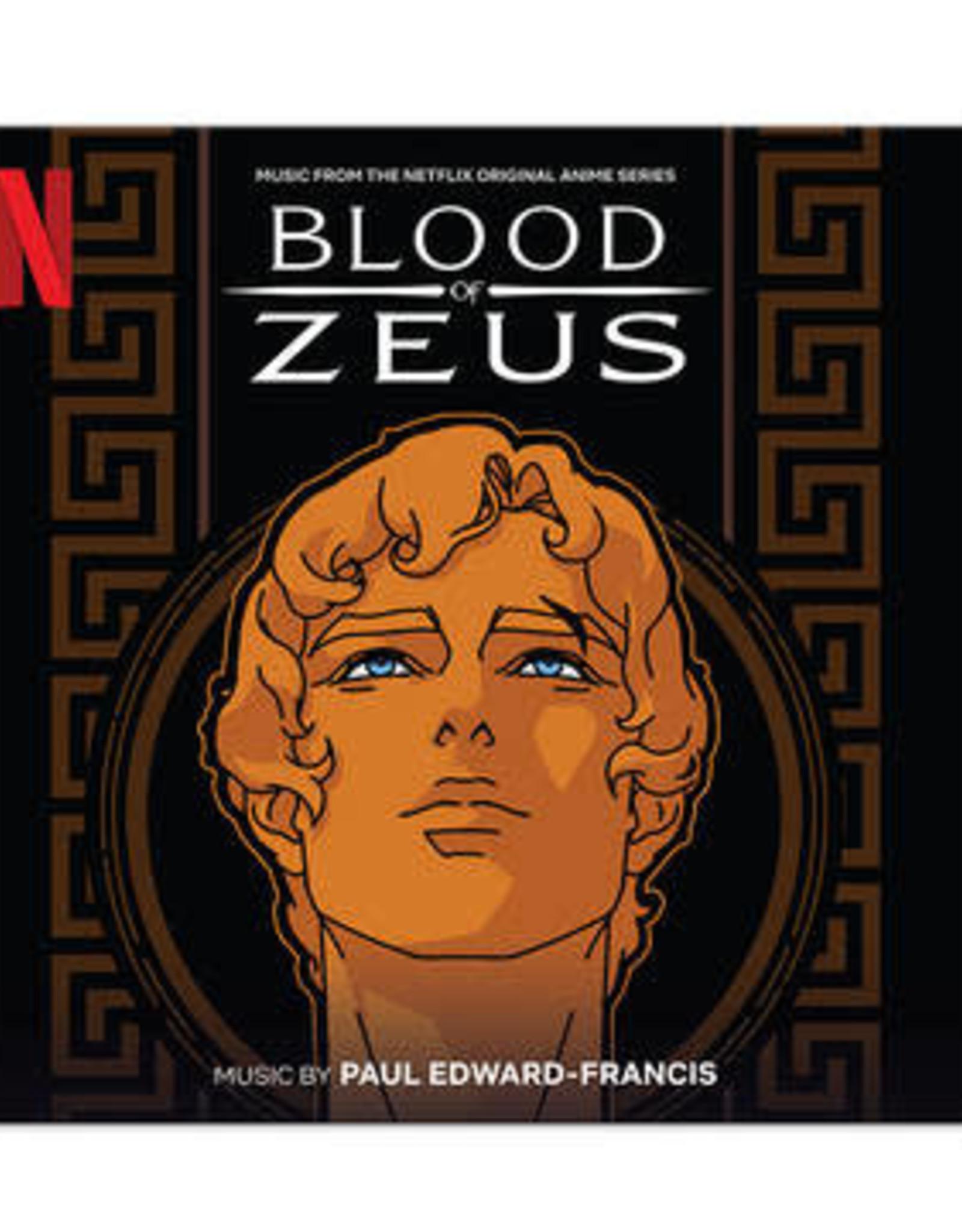 Paul Edward-Francis - Blood Of Zeus (Music From The Netflix Original Anime Series) (2Lp/Red & Black Splatter Vinyl)(RSD 6/21)