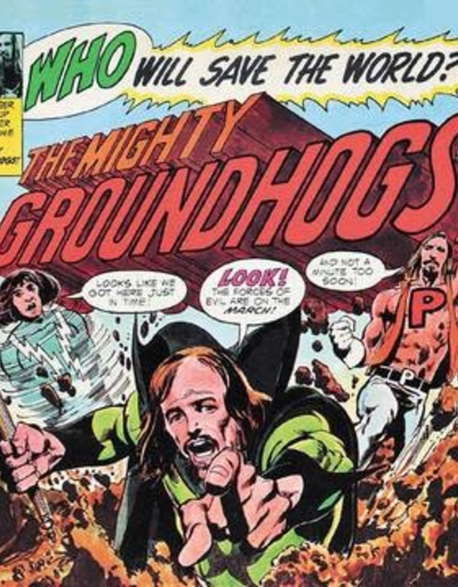 Groundhogs - Who Will Save The World (Deluxe/Yellow Vinyl/Dl Card) (RSD 6/21)