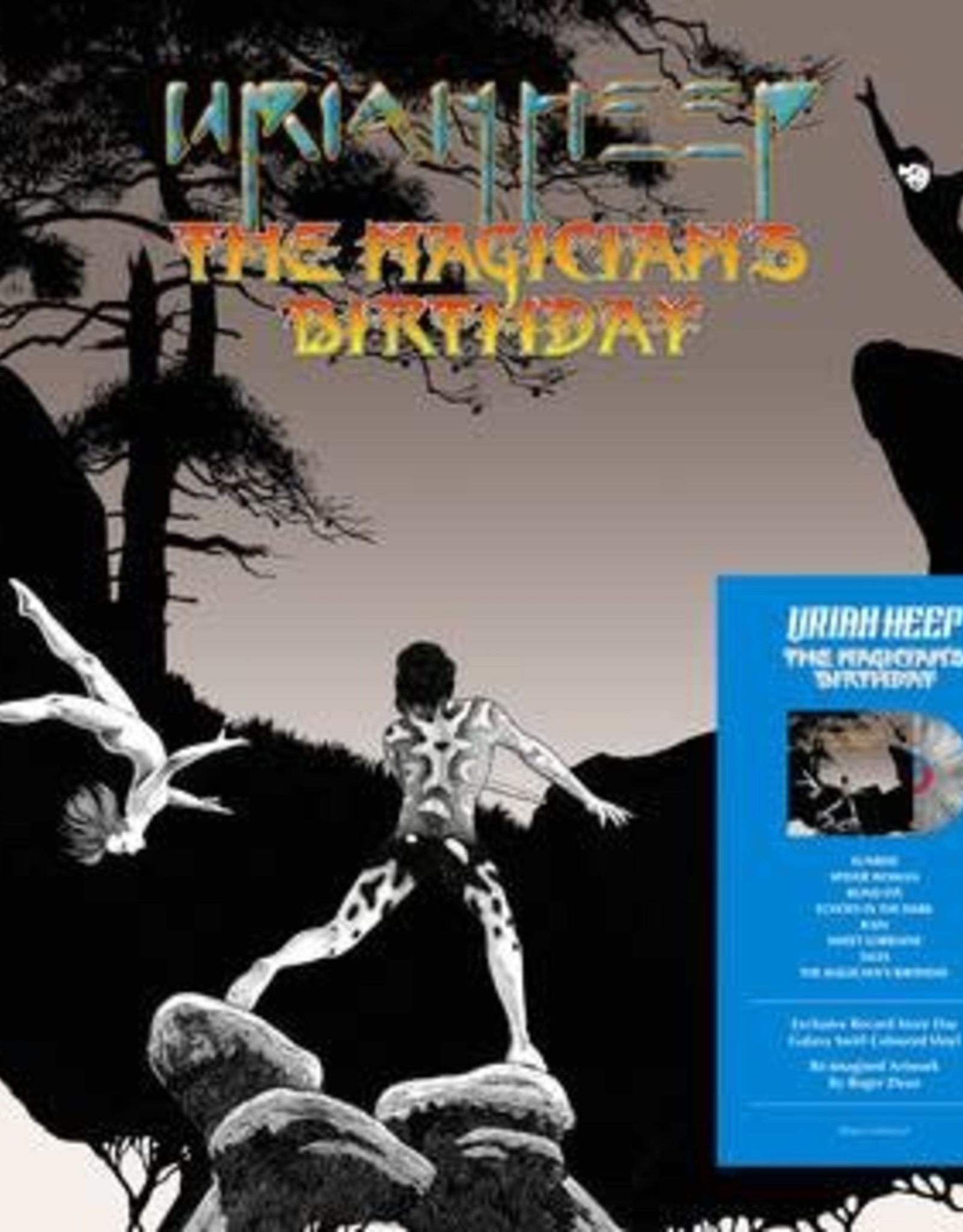 Uriah Heep - Magician's Birthday (Galaxy Swirl Vinyl/Picture Disc/Reimagined Artwork By Roger Dean) (RSD 6/21)