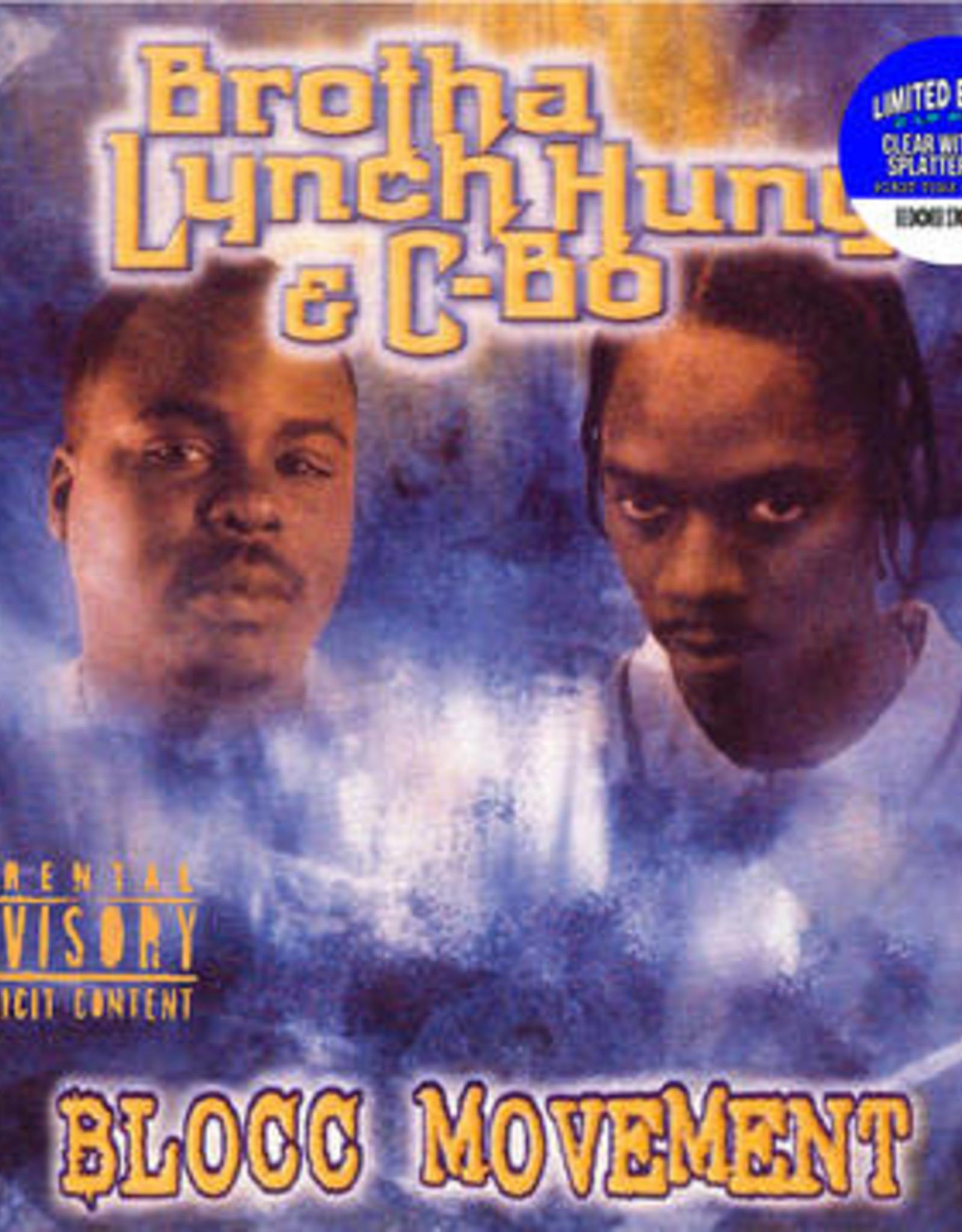 Brotha Lynch Hung / C-Bo - Blocc Movement (RSD 6/21) (Clear/Blue Splatter Vinyl)