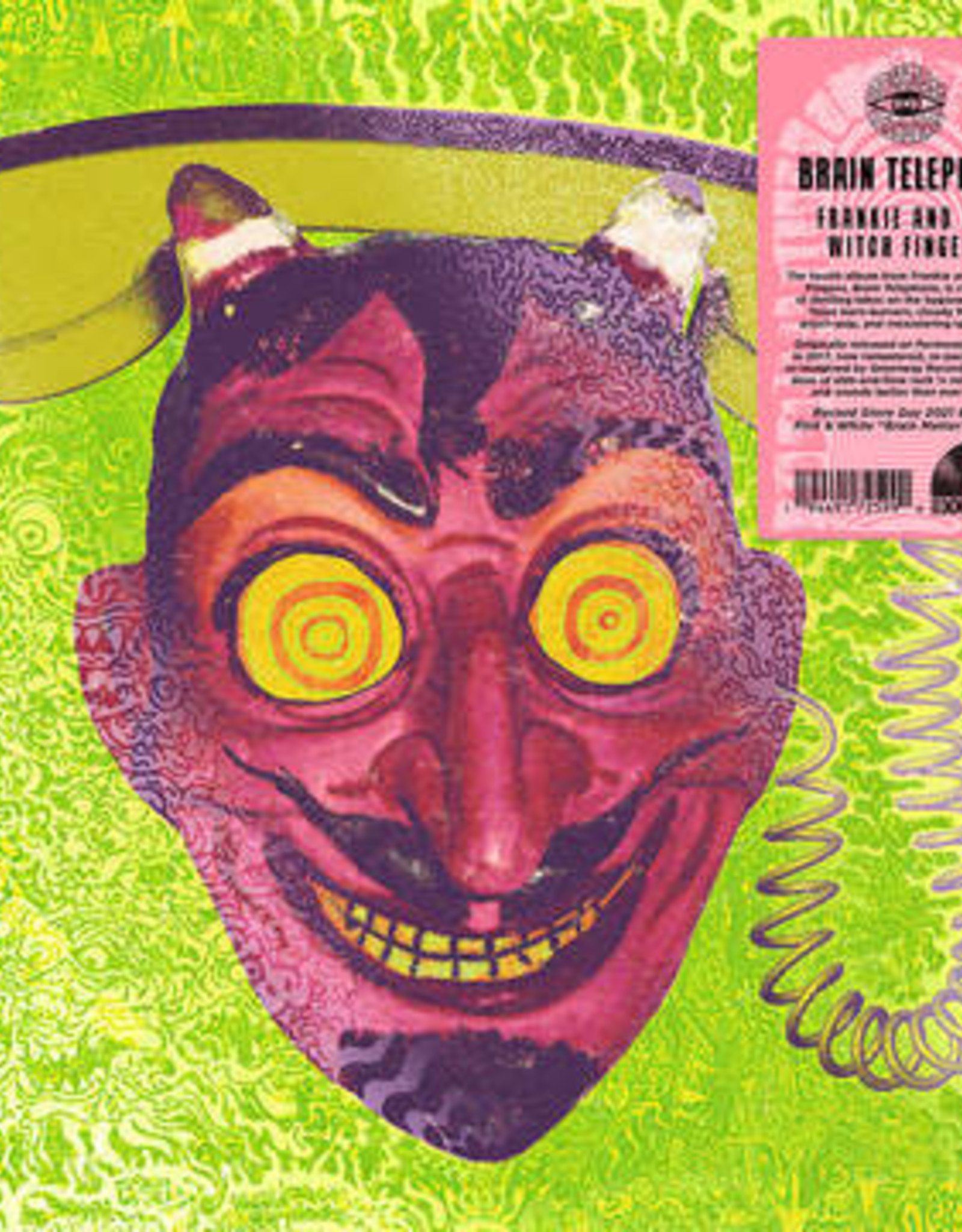 Frankie & the Witch Fingers - Brain Telephone  (Pink & White Vinyl) (RSD 6/21)