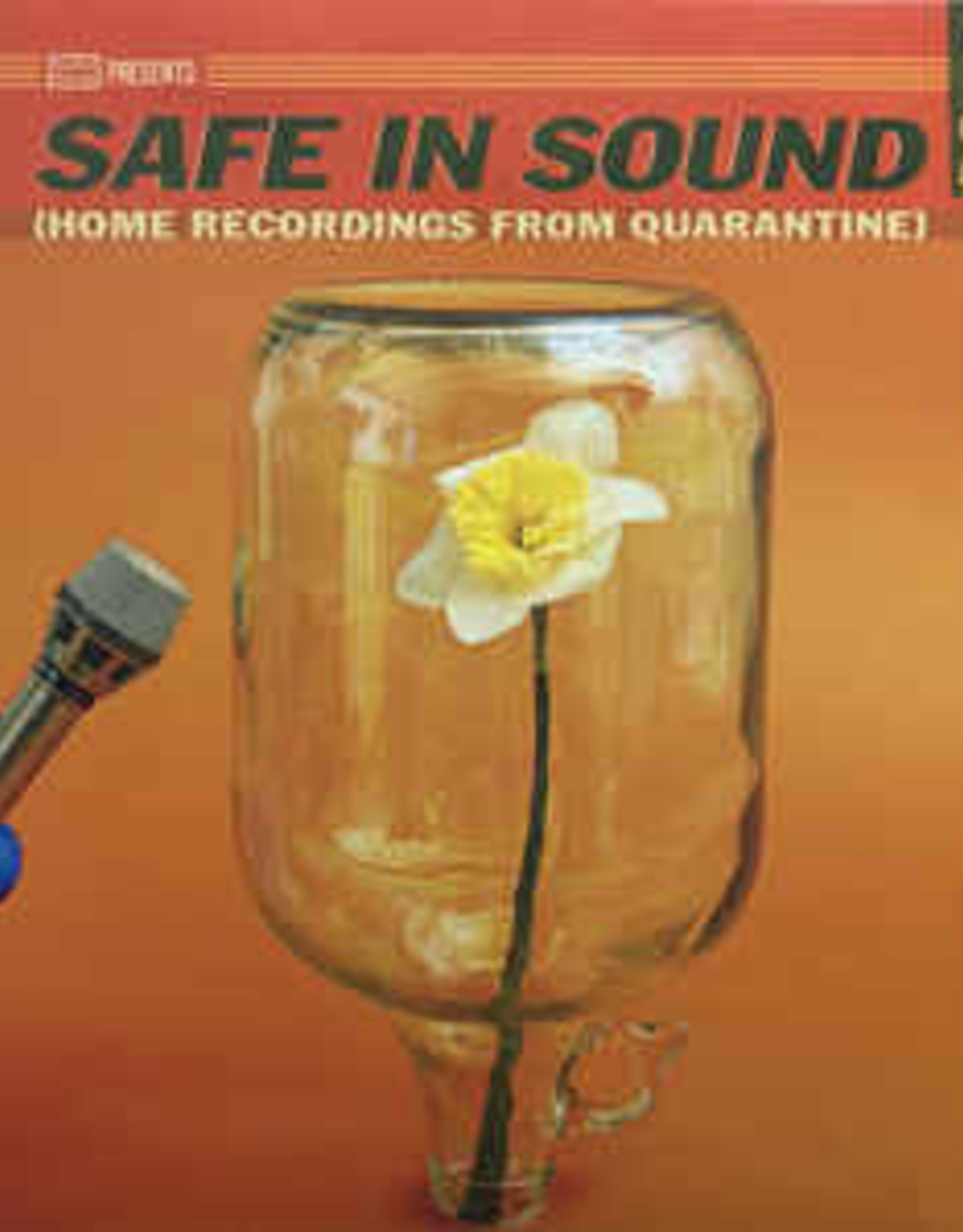 Various Artists - Safe In Sound (Home Recordings From  Quarantine) (White 2x Vinyl LP)