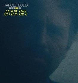 Harold Budd - I Know This Much Is True (Music From The Hbo Series) (Clear Vinyl)(RSD 7/21)