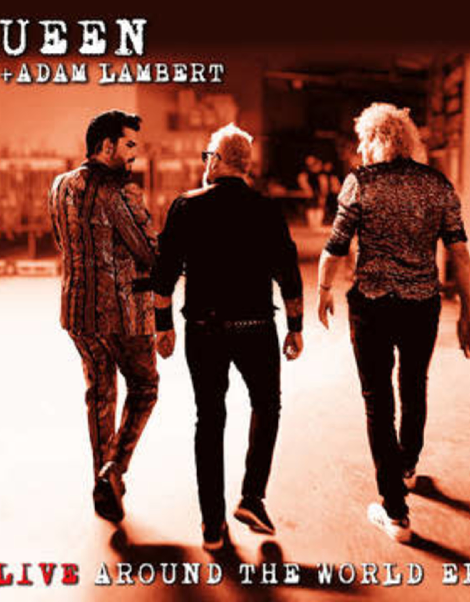 Freddie Mercury/Queen + Adam LambertLive Around The World / Love Me Like There's No Tomorrow (RSD 7/21)