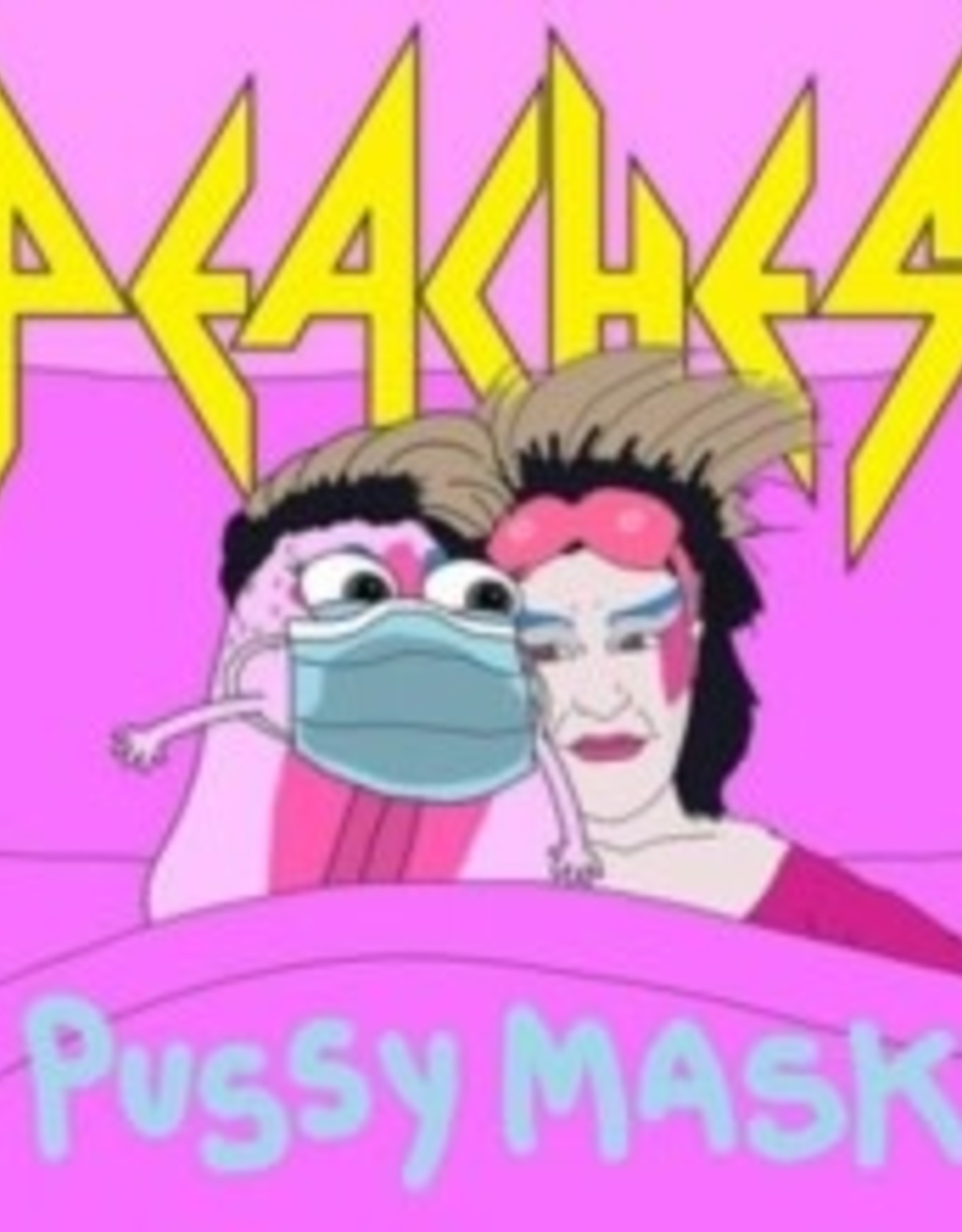 """Peaches - Pussy Mask 7"""""""