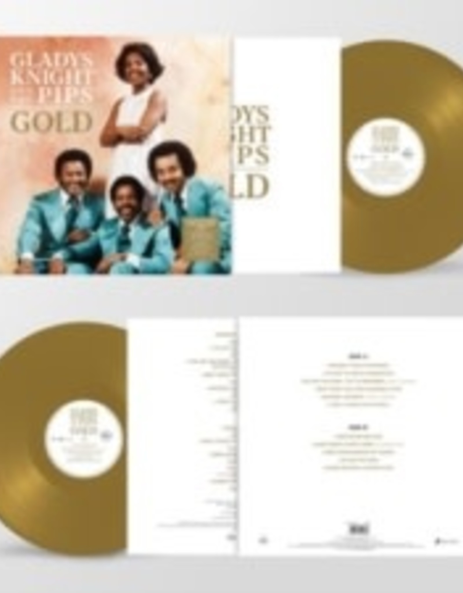 Gladys Knight & the Pips - Gold (Gold Vinyl)