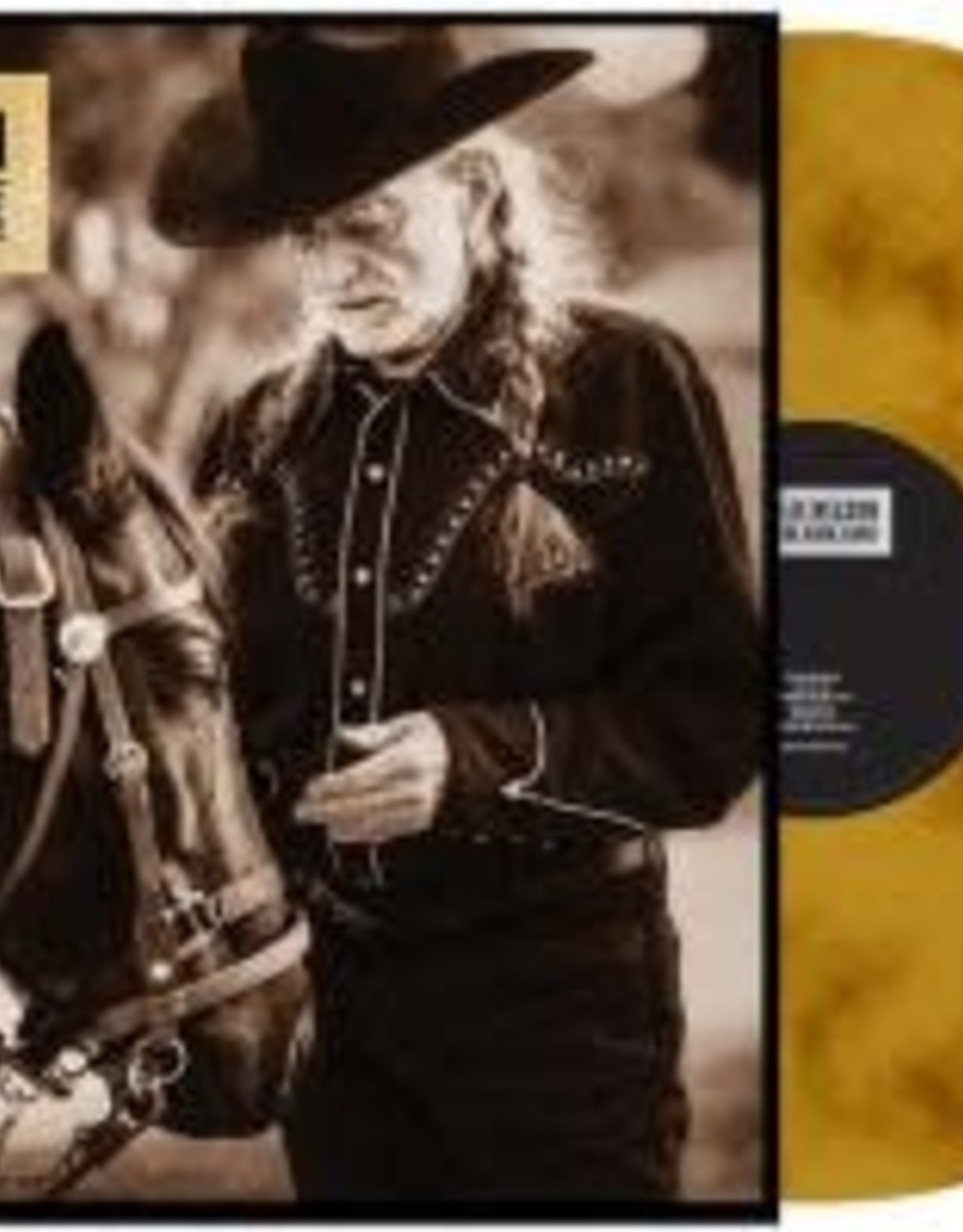 Willie Nelson - Ride Me Back Home [Gold Vinyl]