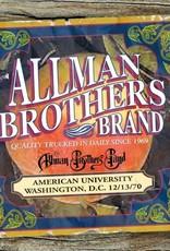 Allman Brothers Band - American University Washington D.C.12-13-70