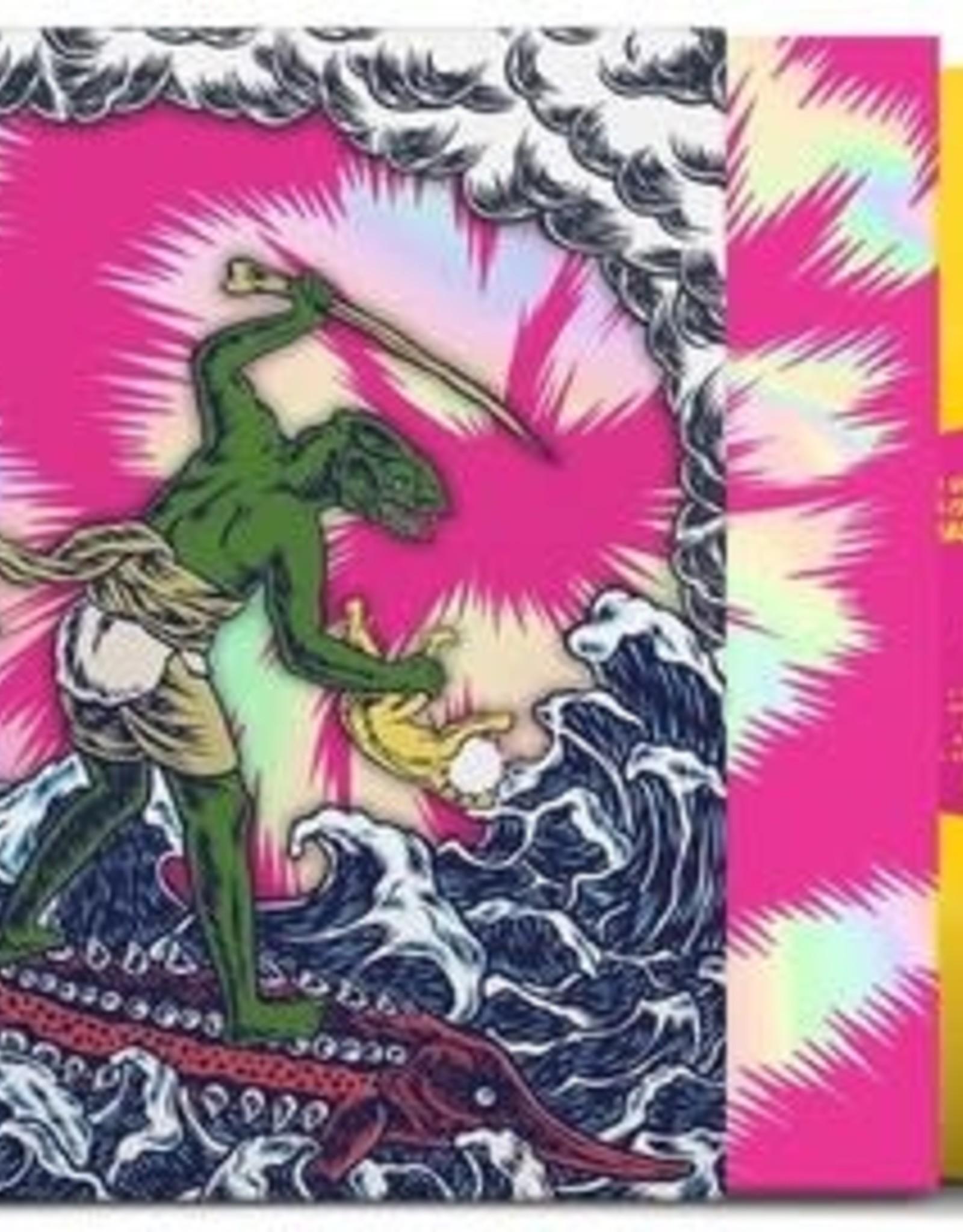 King Gizzard and the Lizard Wizard - Teenage Gizzard (Yellow/Pink Splatter Vinyl, Die Cut Sleeve)