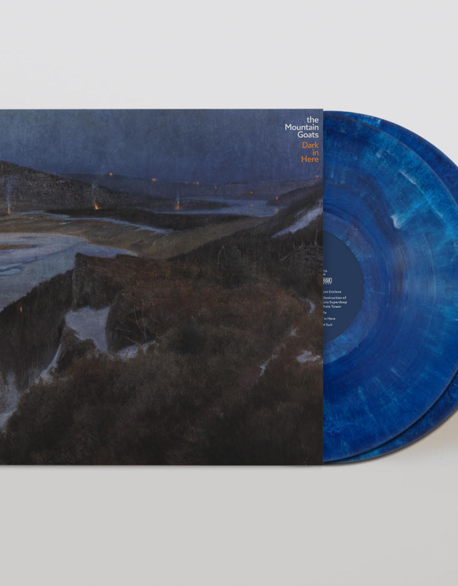 Mountain Goats - Dark in Here (Indie-Exclusive Blue Vinyl)