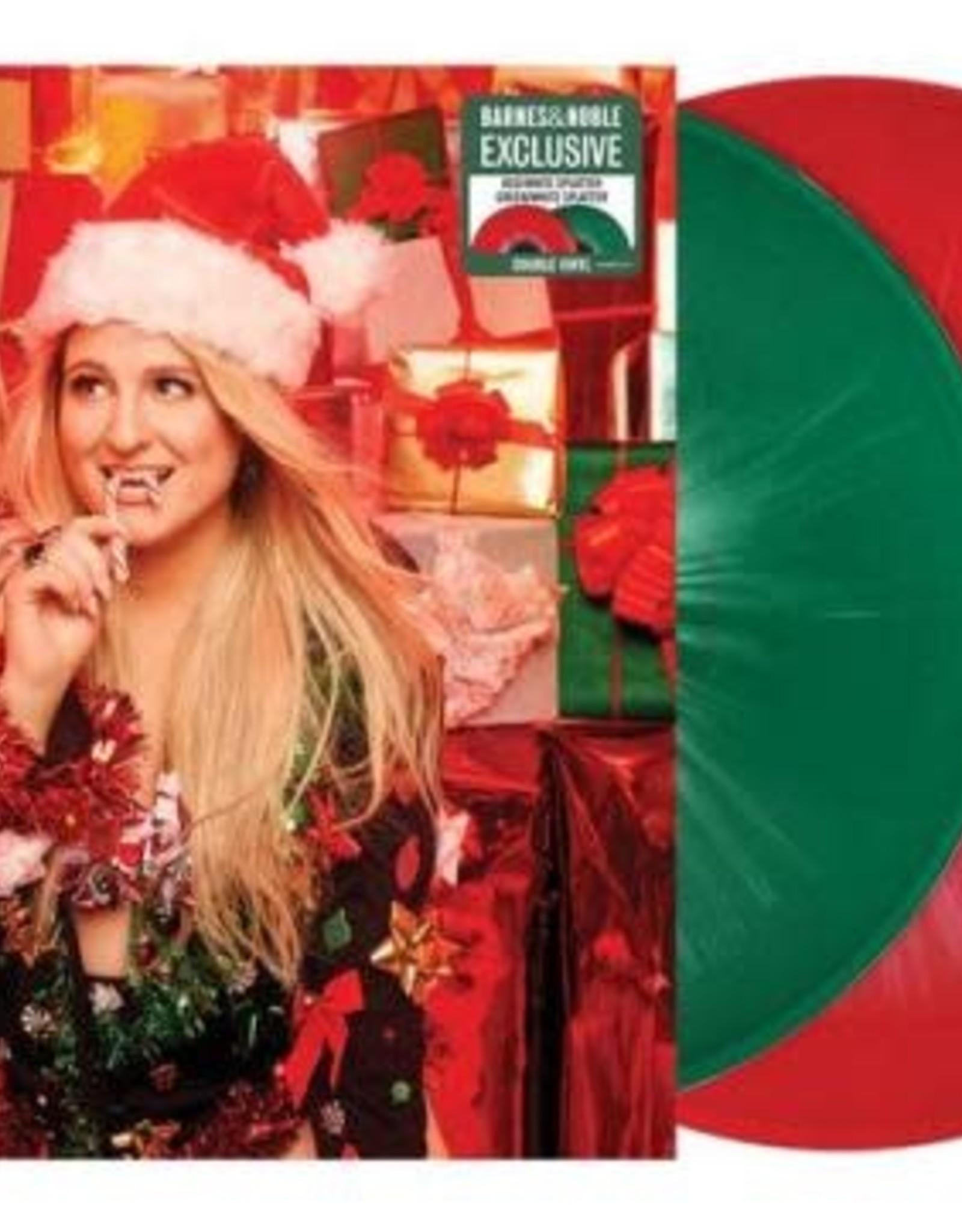 Meghan Trainor - A Very Trainor Chrismas (Red Swirl/Green Swirl Vinyl)]