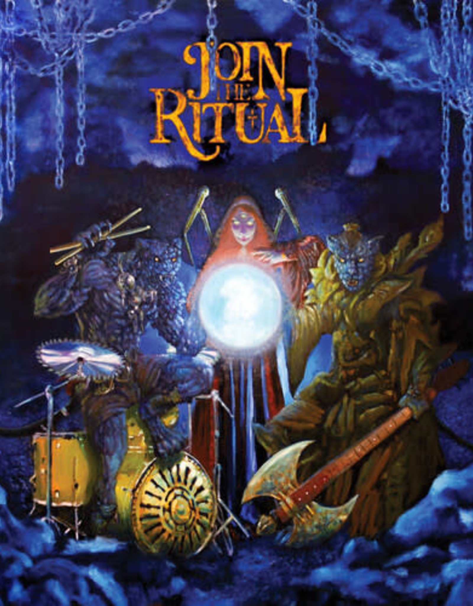 Various Artists - Join The Ritual  (Glowing Orb Vinyl)