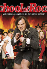 School of Rock (Music From and Inspired by Motion Picture) (Orange Vinyl, Brick & Mortar Exclusive, Etched Vinyl)
