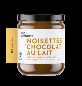 TARTINADE NOISETTES & CHOCOLAT AU LAIT