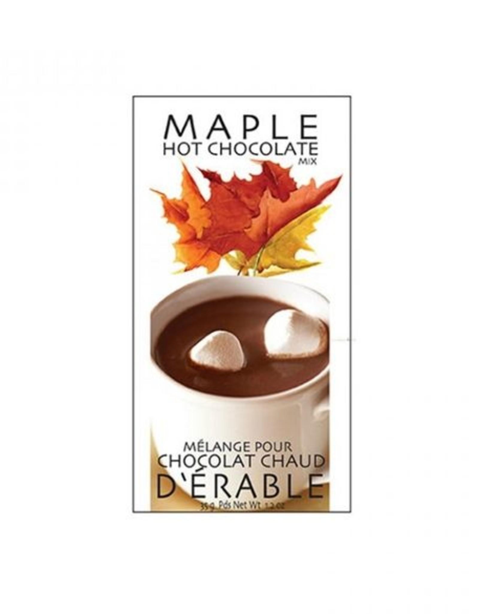 MÉLANGE POUR CHOCOLAT CHAUD : ÉRABLE