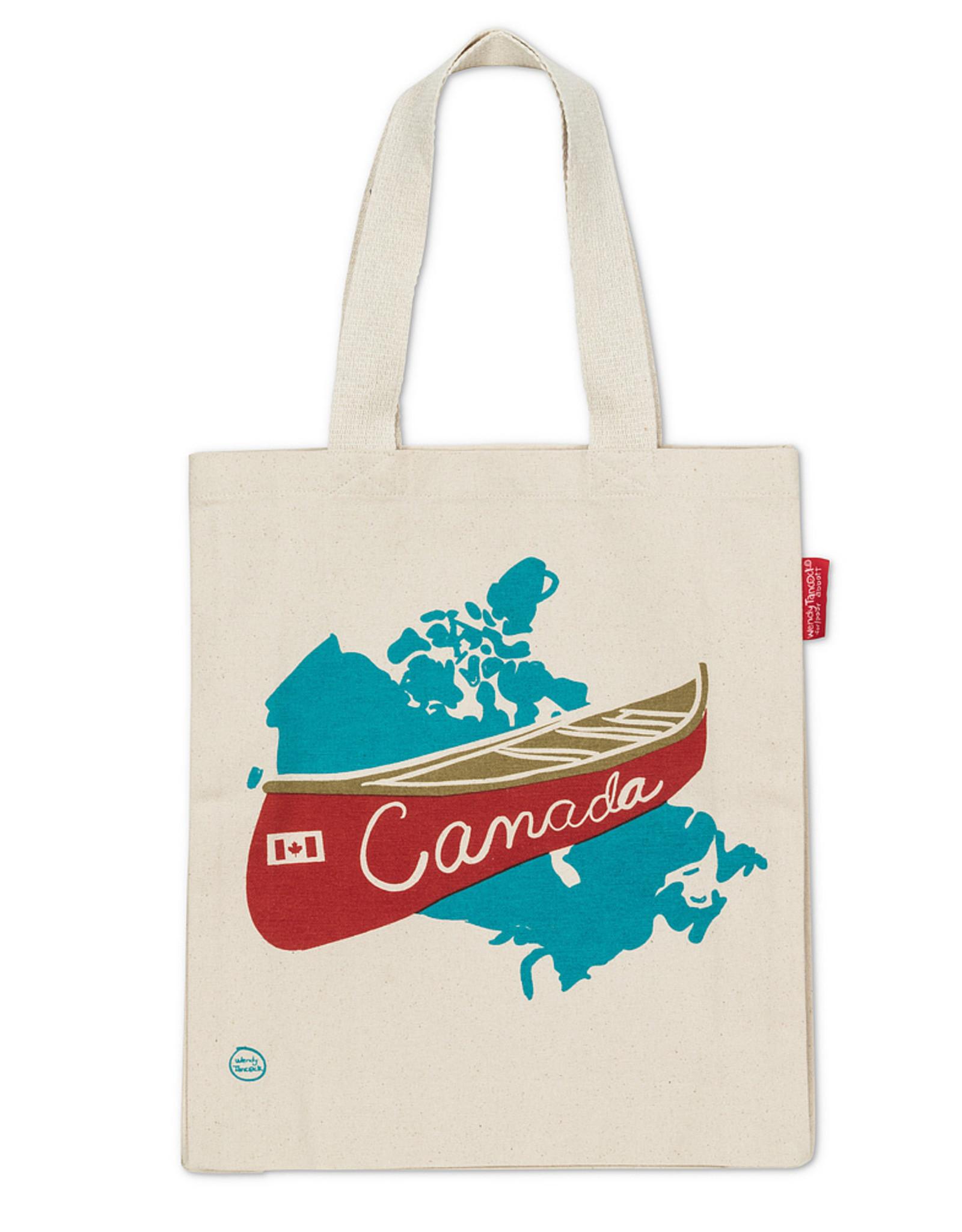 SAC RÉUTILISABLE CANADA CANOE