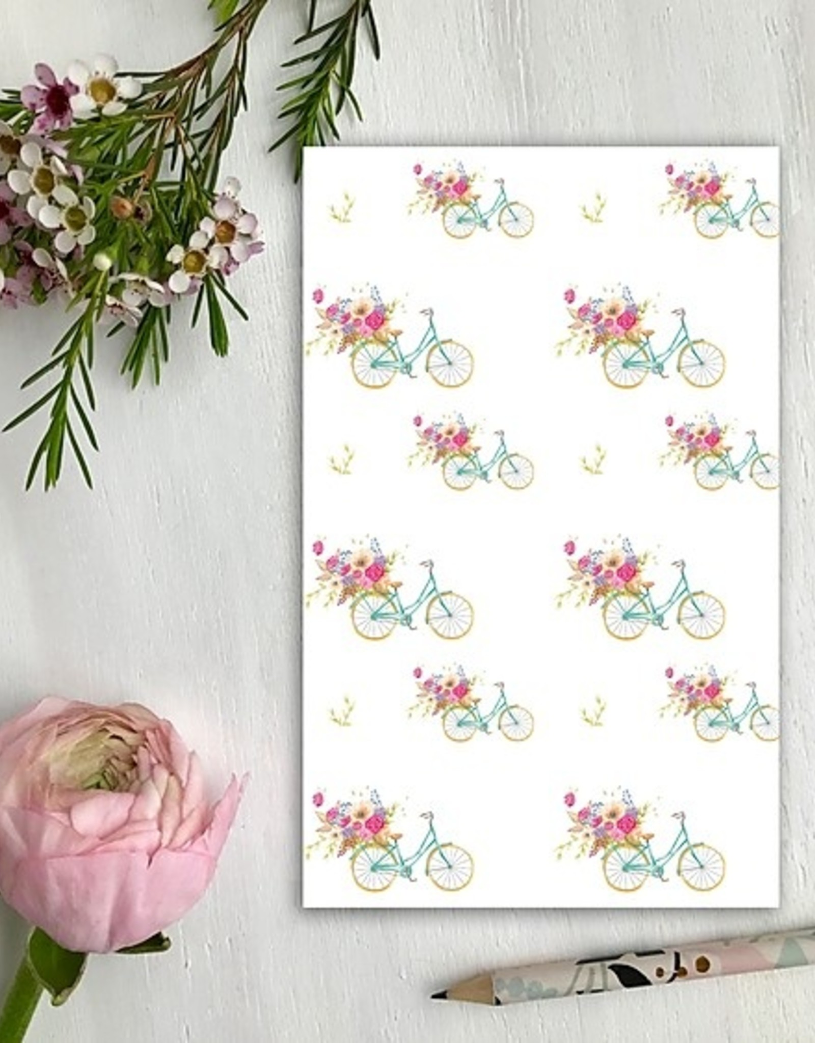 CAHIER DE NOTES BICYCLETTE