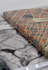 CAHIER DE NOTES CARTOGRAPHIE MONTRÉAL : COULEUR
