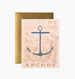 CARTE DE SOUHAITS YOU'RE MY ANCHOR