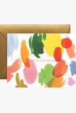 CARTE DE SOUHAITS HAPPY BIRTHDAY ART