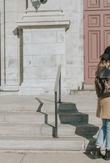 SAC À DOS PAR COACHELLA: NOIR ET LÉOPARD