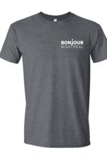 T-SHIRT BONJOUR MONTRÉAL