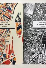 CAHIER DE NOTES CARTOGRAPHIE MONTRÉAL : NOIR & BLANC