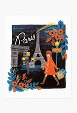 AFFICHE PARIS : 8 X 10