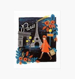 AFFICHE PARIS : 8X10