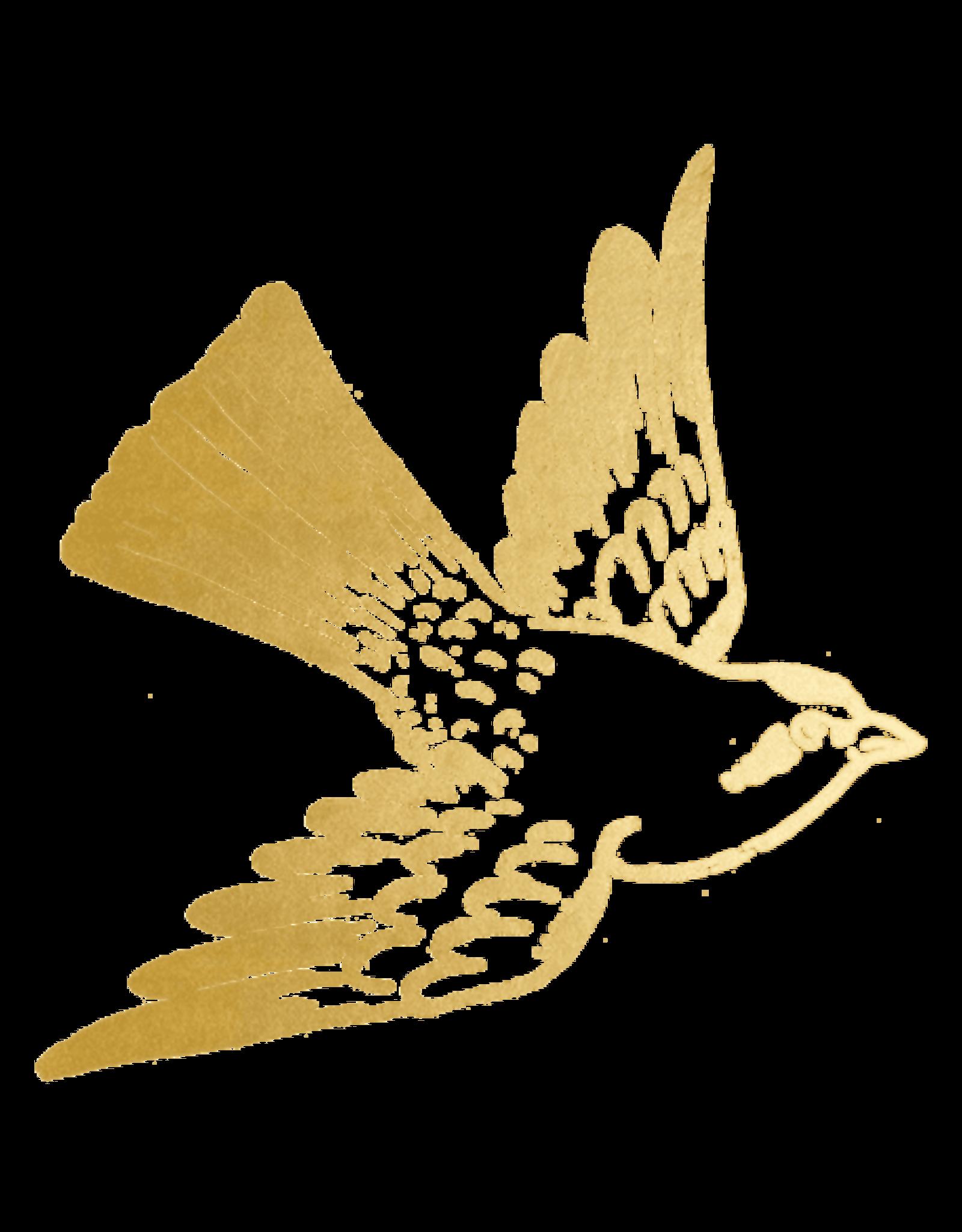 TATOUAGES TEMPORAIRES : CARTOLINA BIRD PAR FIONA RICHARDS