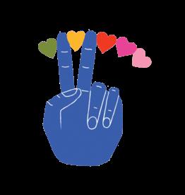 TATOUAGES TEMPORAIRES : PEACE