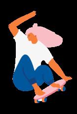 TATOUAGES TEMPORAIRES : SKATER GIRL