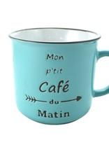 TASSE CAFÉ DU MATIN
