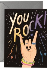 CARTE DE SOUHAITS : YOU ROCK !