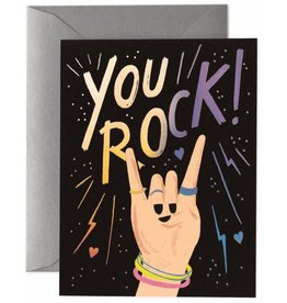 CARTE DE SOUHAITS : YOU ROCK !