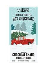 MÉLANGE POUR CHOCOLAT CHAUD : DOUBLE TRUFFE PAYSAGE ENNEIGÉ